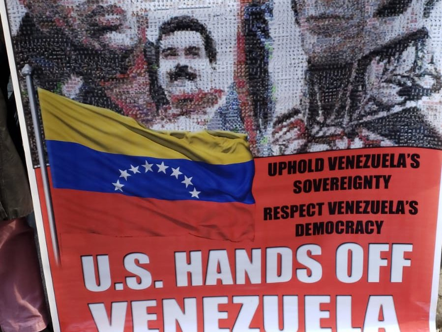 Emergency rallies throughout North America support Bolivarian Revolution