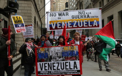 IMAGES + VIDEOS: February 23 Demonstrations Around the World Declare Solidarity with Bolivarian Venezuela, Demand No U.S. War