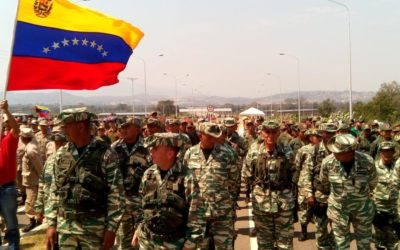 U.S. coup plotters look to 'aid' as pretext for moves against Venezuela