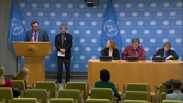 UN Press Conference on the Situation in the Bolivarian Republic of Venezuela with Bahman Azad (Peace Council) and Solidarity Activists